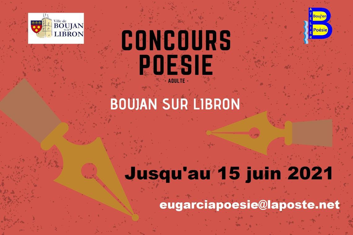 2021-du 01-02 au15 juin - concours poésie boujan