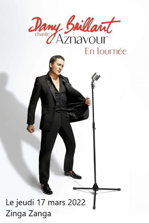 2022-03-17 Dany Brillant chante Aznavour
