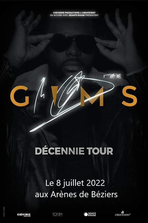 2022-07- 08 Gim's aux Arènes de Béziers