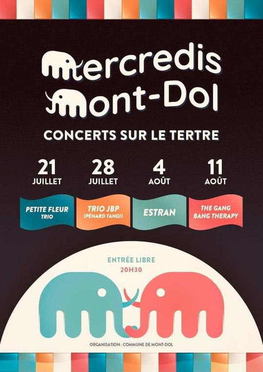 Mercredis du Mont-Dol - 21juilau11aout2021