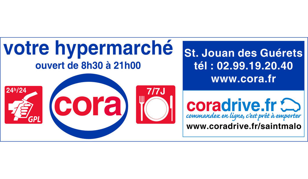 Hypermarché Cora Saint-Jouan-des-Guérets