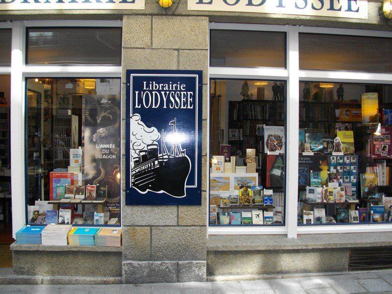 Librairie l'Odyssée Saint-Malo