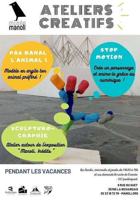 Atelier créatifs Manoli