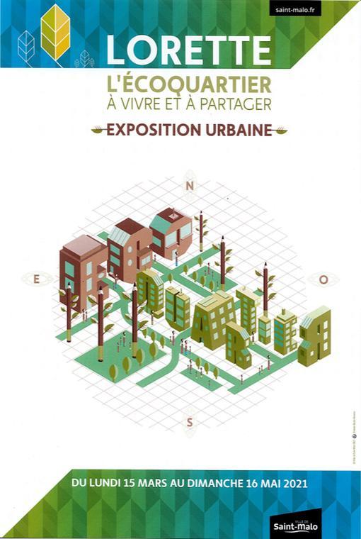Expo urbaine lorette mars à mai21