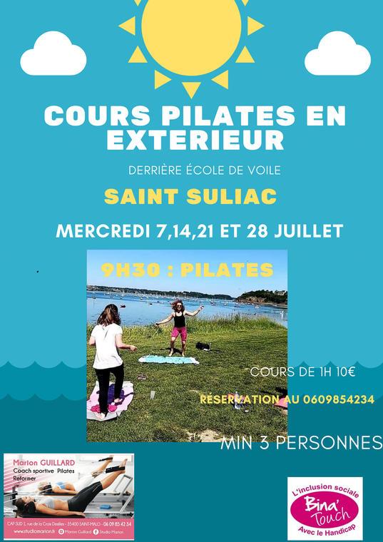 Cours pilate - Saint-Suliac - juil2021