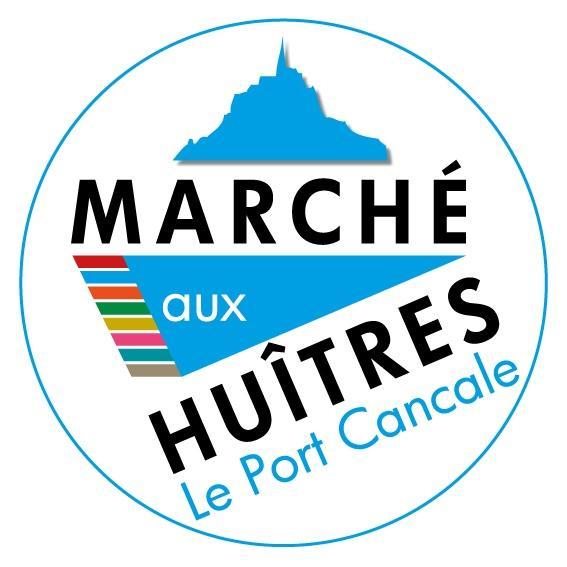Logo - Marché aux Huîtres - Cancale