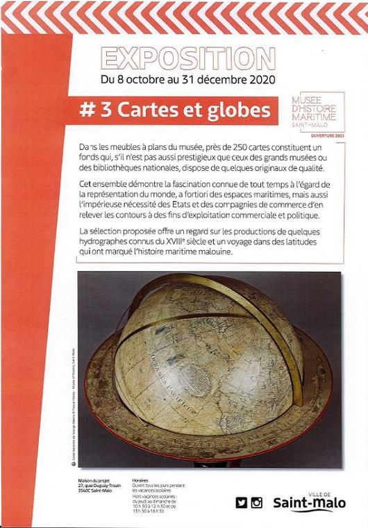 expo carte et globes hiver20