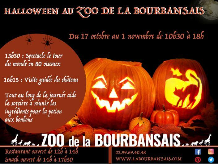 halloween bourbansais