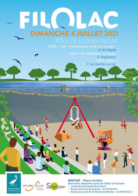 Affiche FIL O LAC 2021