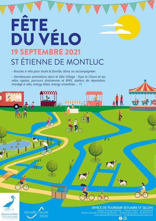 Affiche VF Fête du Vélo