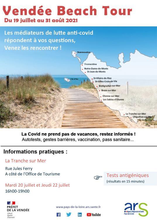 Affiche Vendée Beach Tour