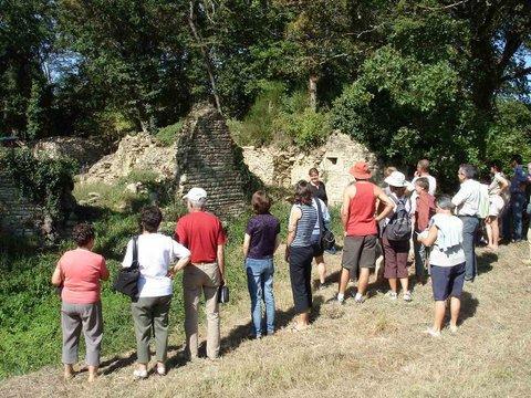 Public au château du Goust