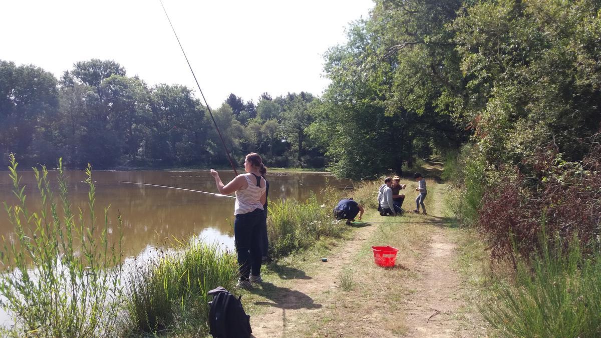 Atelier pêche à Malville