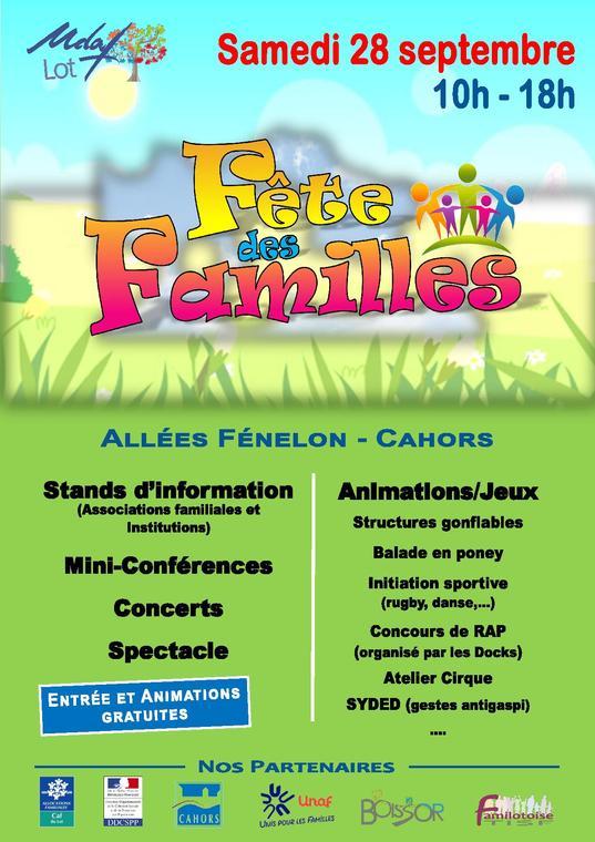 19.09.28 Affiche Fete des FAMILLES Cahors