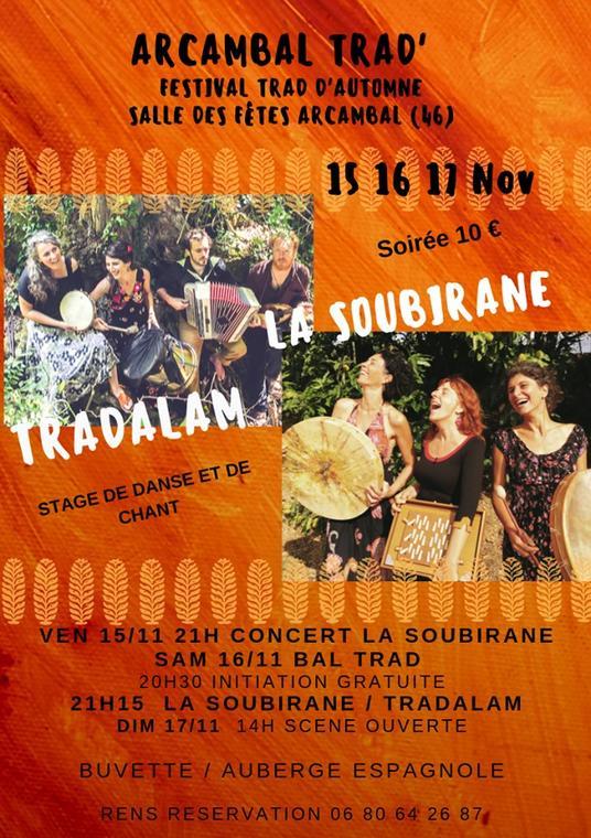 19.11.17 Trad Festival Arcambal