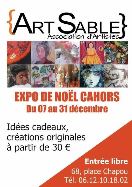 19.12.31 A4 affiche noël artsable
