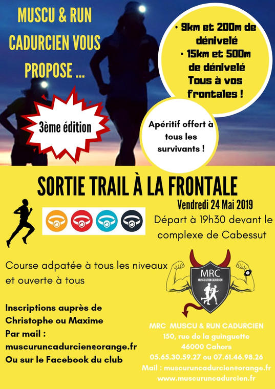 24 mai Trail Cahors