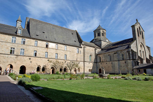 AbbayeAubazine-cloître