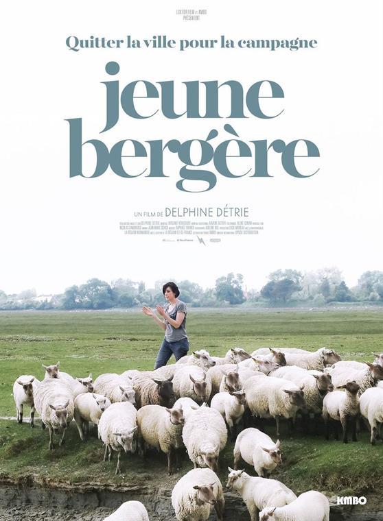 Affiche ''Jeune Bergère'' de Delphine Détrie