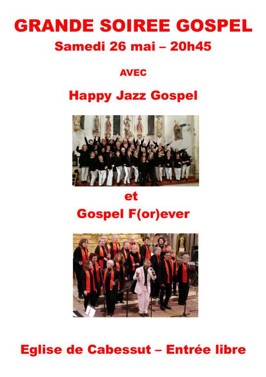 Affiche 26 mai_gospel forever