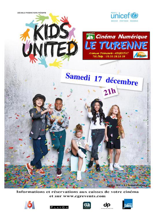Affiche Kids United Officiel Turenne Vers 2