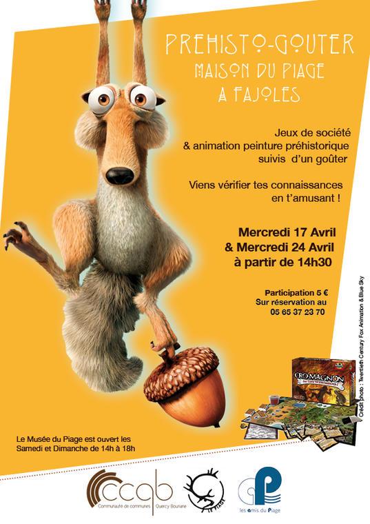 Affiche Préhisto goûter Avril 2019-72dpi