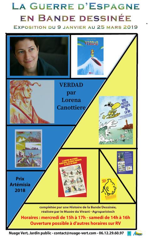 Affiche pour Expo Lorena Canottiere