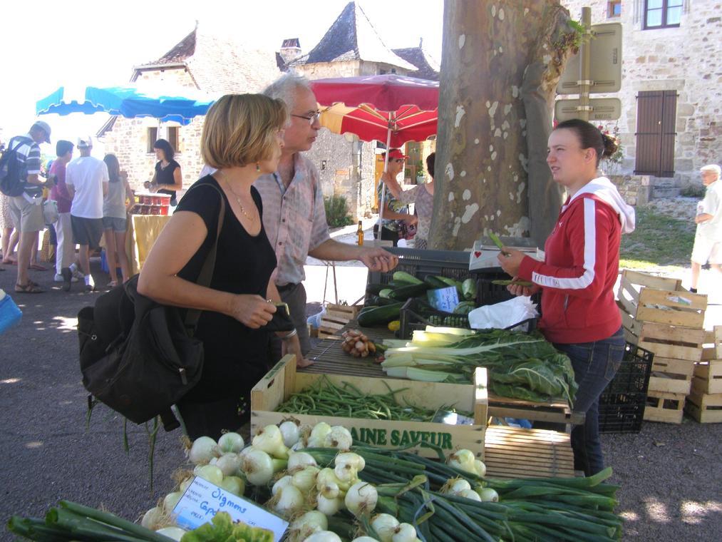 Anais au marché