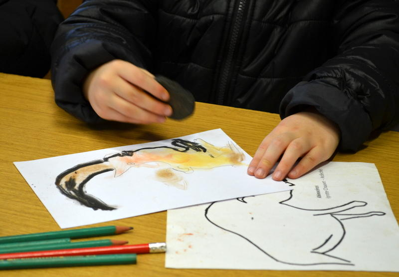 Art-parietal---Musee-de-l-Homme-de-Neandertal