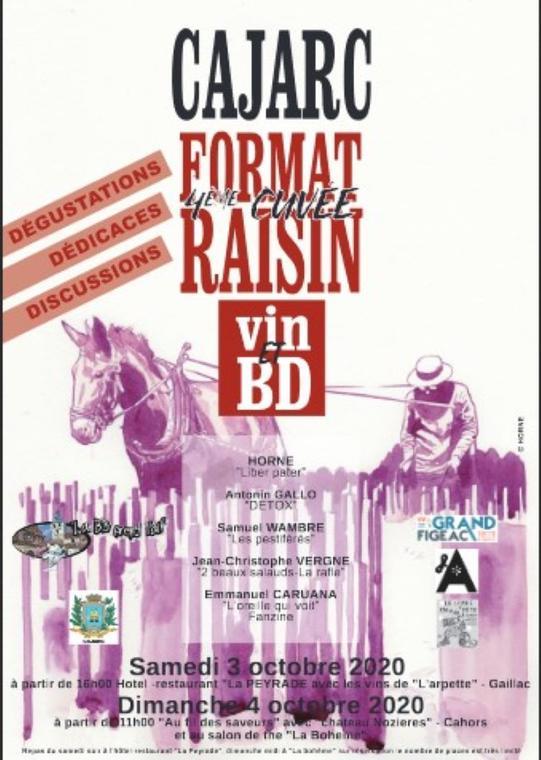 Cajarc Format Raisin