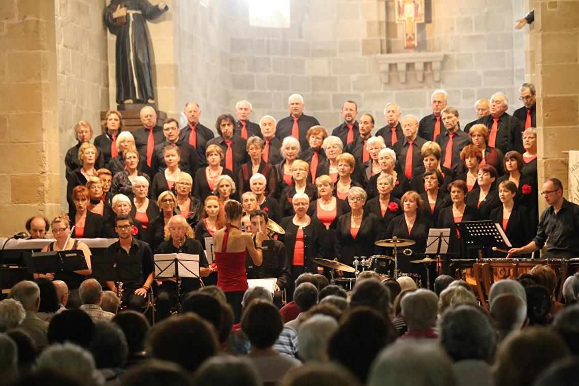 Choeur Chante Brive en concert
