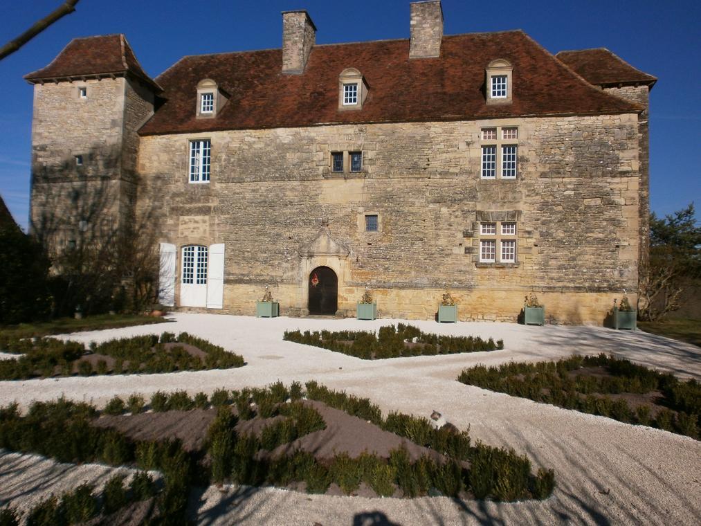 Château de Lantis - jardin renaissance achevé en novembre 2016