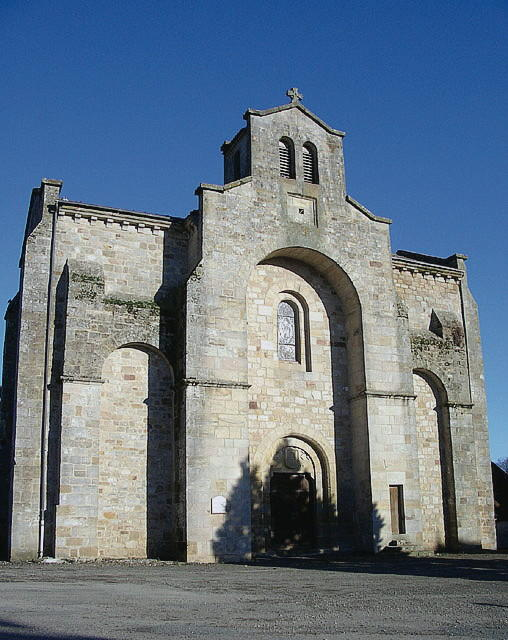 Le Bourg : Eglise Saint Saturnin