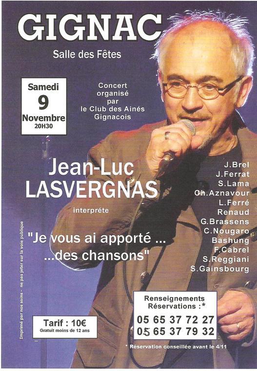 Concert LASVERGNAS