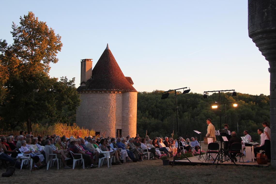Concert château de Vaillac