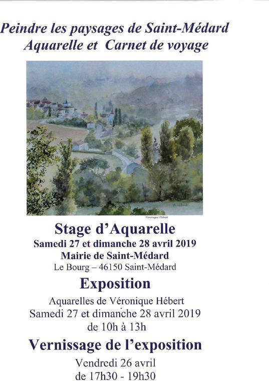 Expo 28 avril St Medard