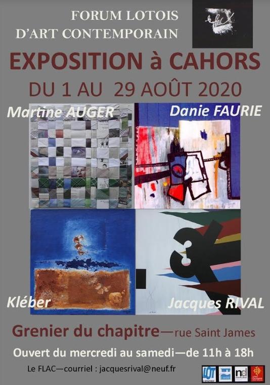 Exposition Cahors aout Grenier du chapitre