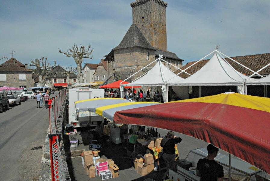 Photo marché gourmand Teyssieu