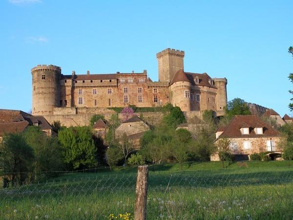 Dévouverte du château de Castelnau
