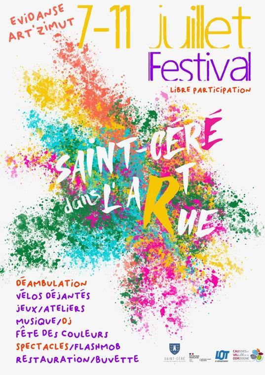 Festival Saint-Céré dans l'Art Rue