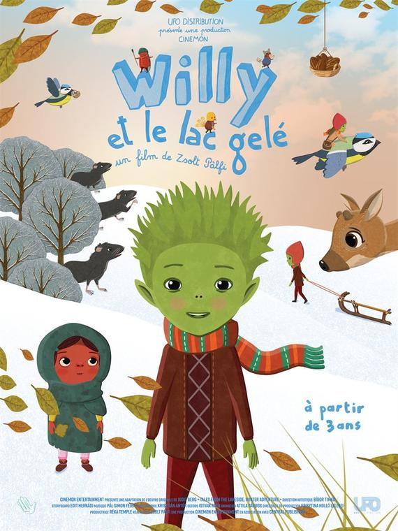 Film ''Willy et le lac gelé''