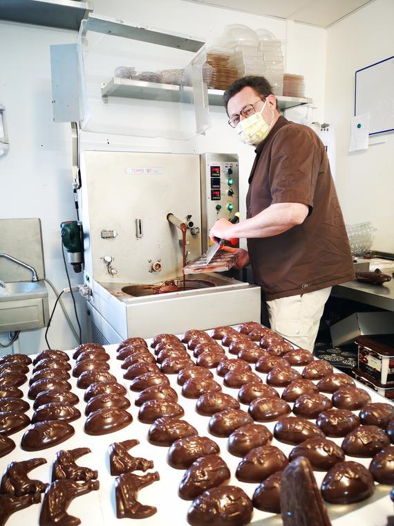 Le chocolatier, Jan Vanderborght