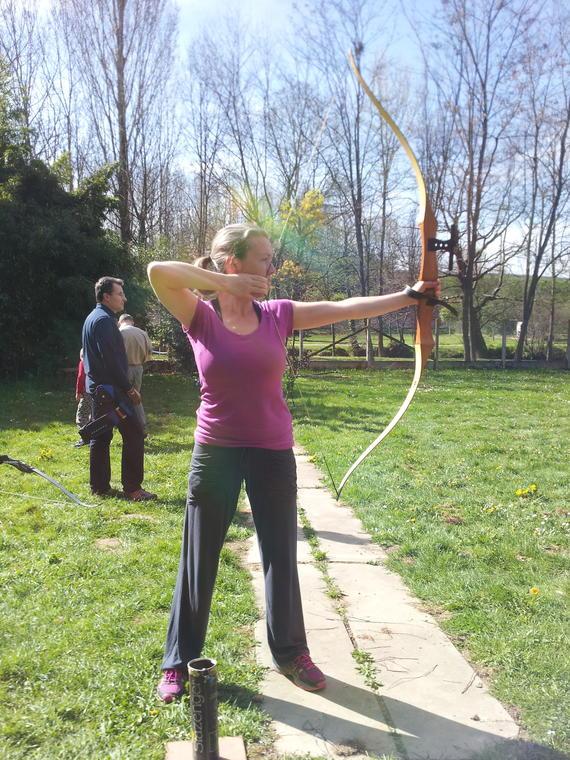Initiation découverte Tir à l'Arc Vire sur Lot Sarah Monnier(1)