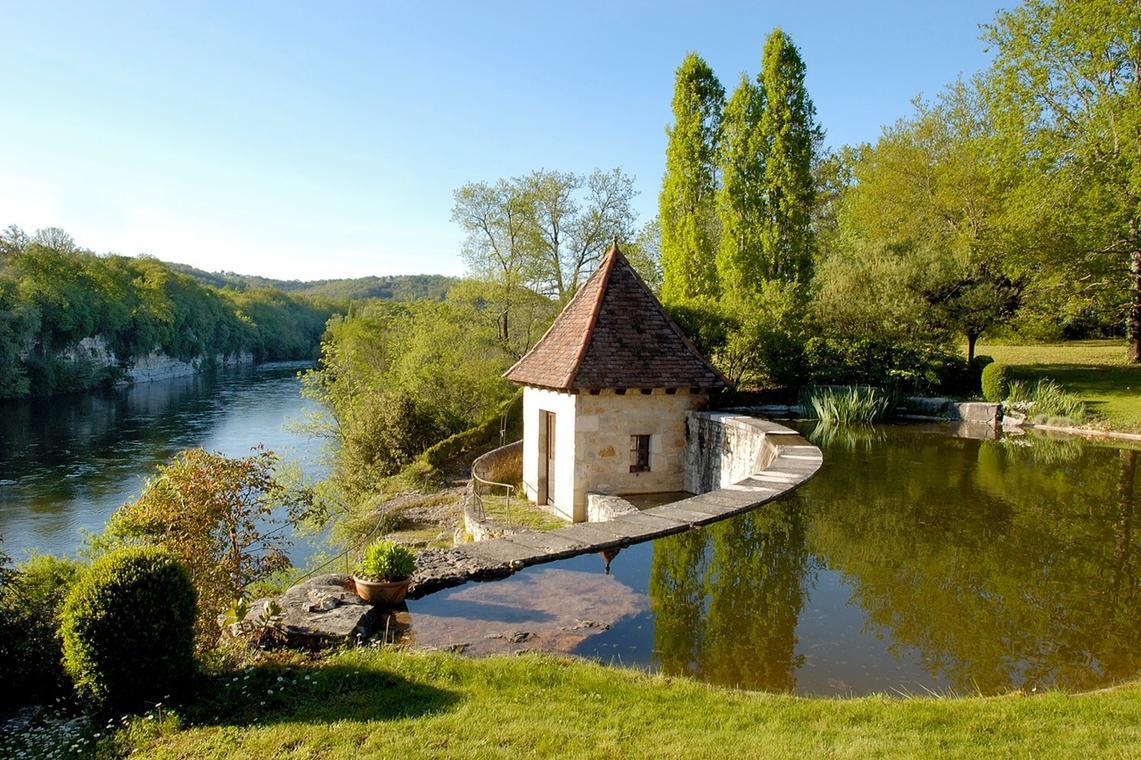 Jardin de l'ancien couvent - Meyronne
