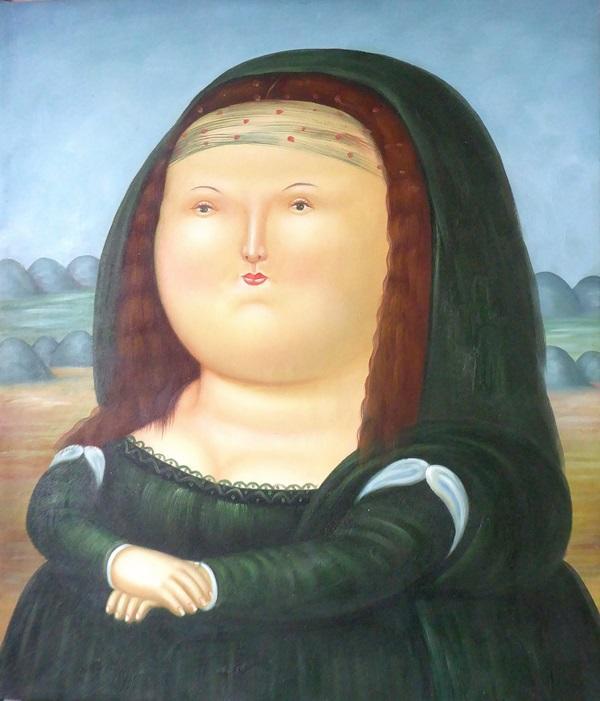 Joconde à la manière de Botero - anonyme OK