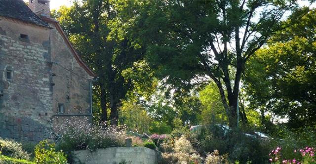Le jardin du Bos Mayrinhac-Lentour