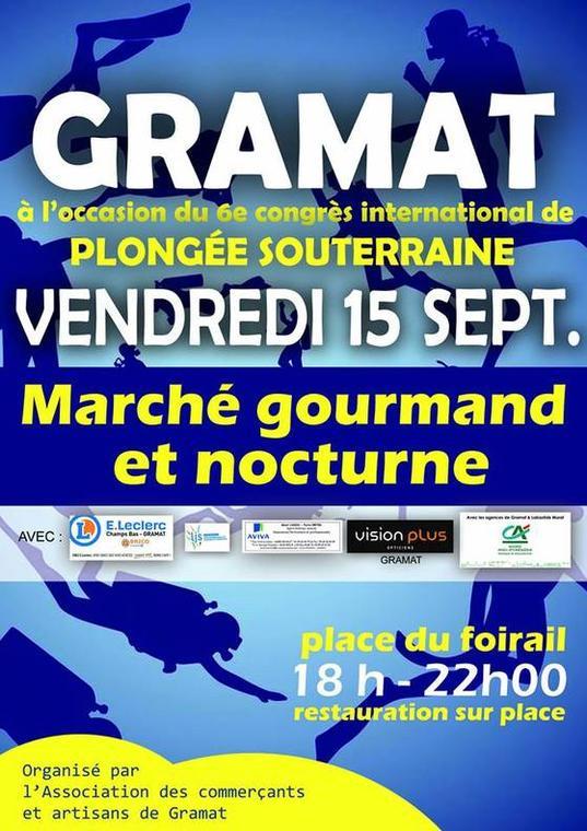 Marché gourmand et nocturne de Gramat