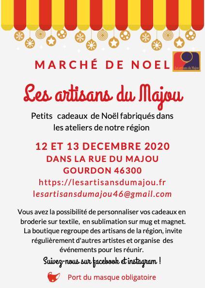 Marché de Noël des Artisans de la rue du Majou