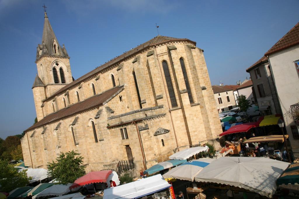 Marché de Prayssac - Lot Tourisme - J. Morel