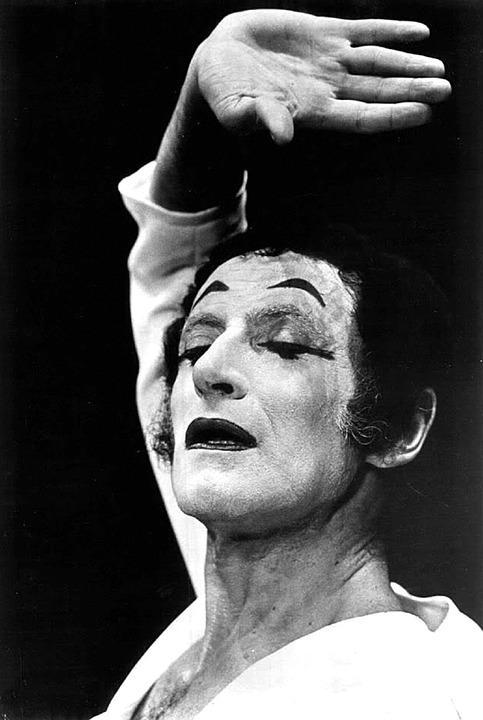 Mime Marceau